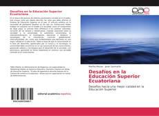 Portada del libro de Desafíos en la Educación Superior Ecuatoriana