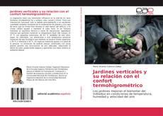 Bookcover of Jardines verticales y su relación con el confort termohigrométrico