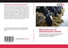Portada del libro de Manzarina en la alimentación animal