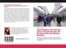 Portada del libro de Estrategias de acción para recuperación de la Estación de Metro Petare