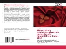 Buchcover von Alteraciones cardiovasculares en pacientes de hemodiálisis. Cuba, 2015