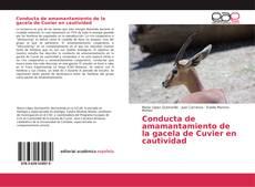 Portada del libro de Conducta de amamantamiento de la gacela de Cuvier en cautividad