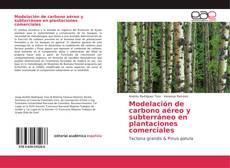 Portada del libro de Modelación de carbono aéreo y subterráneo en plantaciones comerciales