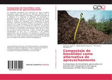 Portada del libro de Compostaje de biosólidos como alternativa de aprovechamiento