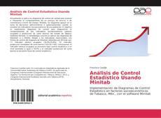 Capa do livro de Análisis de Control Estadístico Usando Minitab