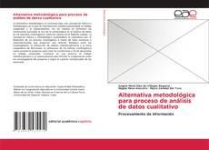 Обложка Alternativa metodológica para proceso de análisis de datos cualitativo