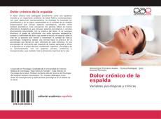 Buchcover von Dolor crónico de la espalda