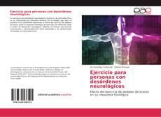 Bookcover of Ejercicio para personas con desórdenes neurológicos