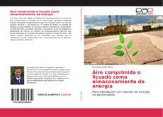 Capa do livro de Aire comprimido o licuado como almacenamiento de energía