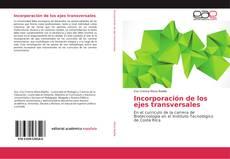 Capa do livro de Incorporación de los ejes transversales