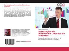 Portada del libro de Estrategias de Innovación Docente en Finanzas