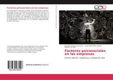 Portada del libro de Factores psicosociales en las empresas