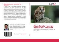 Portada del libro de Abundancia y uso de hábitat del Yanavico