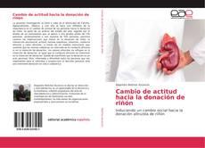 Buchcover von Cambio de actitud hacia la donación de riñón
