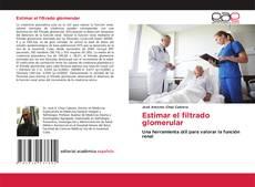 Capa do livro de Estimar el filtrado glomerular