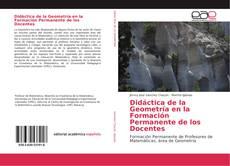 Capa do livro de Didáctica de la Geometría en la Formación Permanente de los Docentes