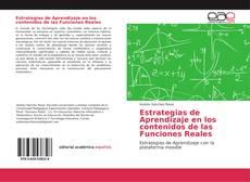 Portada del libro de Estrategias de Aprendizaje en los contenidos de las Funciones Reales