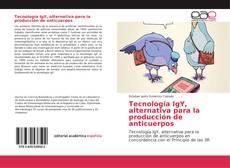 Portada del libro de Tecnología IgY, alternativa para la producción de anticuerpos