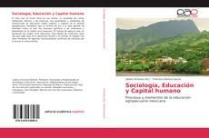 Sociología, Educación y Capital humano的封面