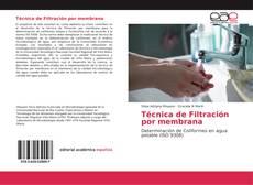 Bookcover of Técnica de Filtración por membrana