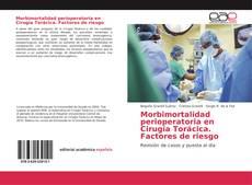 Morbimortalidad perioperatoria en Cirugía Torácica. Factores de riesgo kitap kapağı