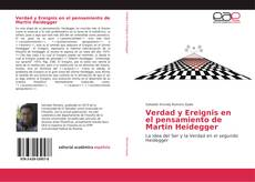 Bookcover of Verdad y Ereignis en el pensamiento de Martin Heidegger