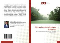 Plantes hémostatiques du sud-Bénin的封面
