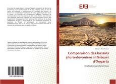 Обложка Comparaison des bassins siluro-dévoniens inférieurs d'Ougarta