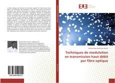 Couverture de Techniques de modulation en transmission haut débit par fibre optique