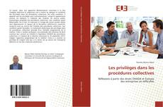 Capa do livro de Les privilèges dans les procédures collectives