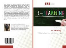 Couverture de e-Learning :