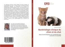 Couverture de Bactériologie clinique du chien et du chat