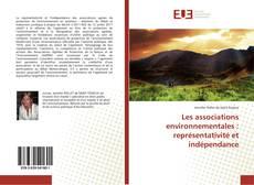 Capa do livro de Les associations environnementales : représentativité et indépendance