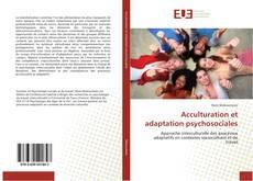 Borítókép a  Acculturation et adaptationpsychosociales - hoz