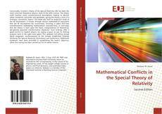 Bookcover of Mathematical Conflicts in the Special Theory of Relativity