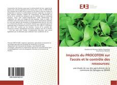 Couverture de Impacts du PROCOTON sur l'accès et le contrôle des ressources: