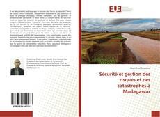 Portada del libro de Sécurité et gestion des risques et des catastrophes à Madagascar