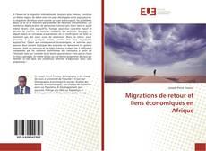 Bookcover of Migrations de retour et liens économiques en Afrique
