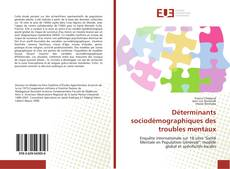 Portada del libro de Déterminants sociodémographiques des troubles mentaux