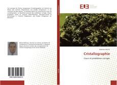 Couverture de Cristallographie