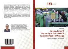 Обложка Comportement Dynamique des Pièces à Parois Minces en Usinage