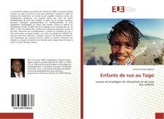 Bookcover of Enfants de rue au Togo