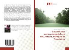 Buchcover von Gouvernance environnementale en RDC.Acteurs, Pratiques et Trajectoires