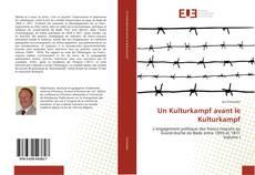 Un Kulturkampf avant le Kulturkampf kitap kapağı