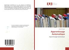 Couverture de Apprentissage Automatique