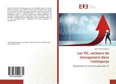 Portada del libro de Les TIC, vecteurs de changement dans l'entreprise