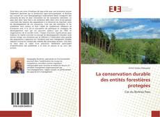 Borítókép a  La conservation durable des entités forestières protegées - hoz