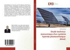 Обложка Etude technico- économique d'un système hybride photovoltaïque-diesel.