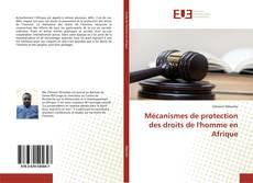 Mécanismes de protection des droits de l'homme en Afrique的封面