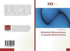 Capa do livro de Géométrie Riemannienne et pseudo-Riemannienne